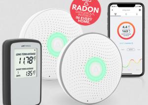 Airthings radon sensors